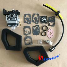 Carburetor Air Filter Kit F Honda GX25 GX25N GX25NT FG110 FG110K1 16100-... - $12.25