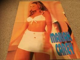 Zac Hanson Mariah Carey teen magazine poster clipping white skirt Bop rare