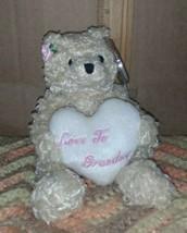 Ty Dear Heart The Bear B EAN Ie Baby - Hallmark Exclusive - Mint With Mint Tags - $4.99