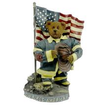 "Boyds Bears Crumpleton ""Our American H""   #73110 12"" Fireman/911  Bbc Exclusive - $69.99"