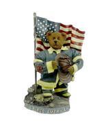 "Boyds Bears Crumpleton ""OUR AMERICAN H"" - #73110-12"" FIREMAN/911- BBC EX... - $69.99"