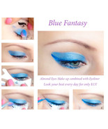 Quick Eye Makeup Stencils Eyeliner Eyeshadow Eyebrow Tool Free Shipping CA3 - $15.00