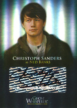 Ghost Whisperer Seasons 1 and 2 GA-4 Christoph Sanders Autograph Card - $15.00