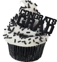 Congrats Grad Cupcake Picks - 24 pcs - $3.51
