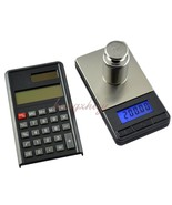 Digital 200g x 0.01g Gram Carat Scale with Calculator Pocket Precision B... - $20.00