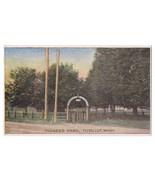Ezra Meeker Postcard Pioneer Park Puyallup WA Vintage Oregon Trail Terri... - $7.99