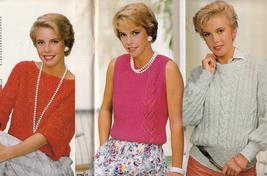 Anna Burda Knitting Needlecraft Sewing Crochet 1985 #7 July Vintage Magazine - $9.98