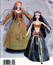 "11.5"" BARBIE DOLL MAKEOVER O.O.A.K. INSTRUCTION & SEWING PATTERN SIMPLIC... - $19.98"