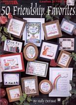 50 Friendship Favorites * Sayings 4 Gifts Cross Stitch Charts Leisure Arts #2798 - $9.98