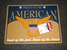 "Mohawk Patriotic Door Mat 18"" X 24"" - Proud To Be American  # LBL1112745 - $19.55"