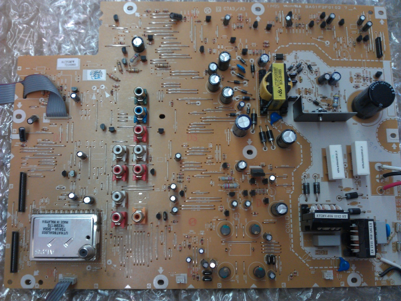 A17FGMPW-001 ( A17FGMPW ) Power Supply Board From Philips 32PFL3506/F7 LCD TV
