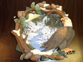 """The Hamilton Collection Four Seasons Of The Eagle """" Winter's Flight """"  1997 - $34.65"""