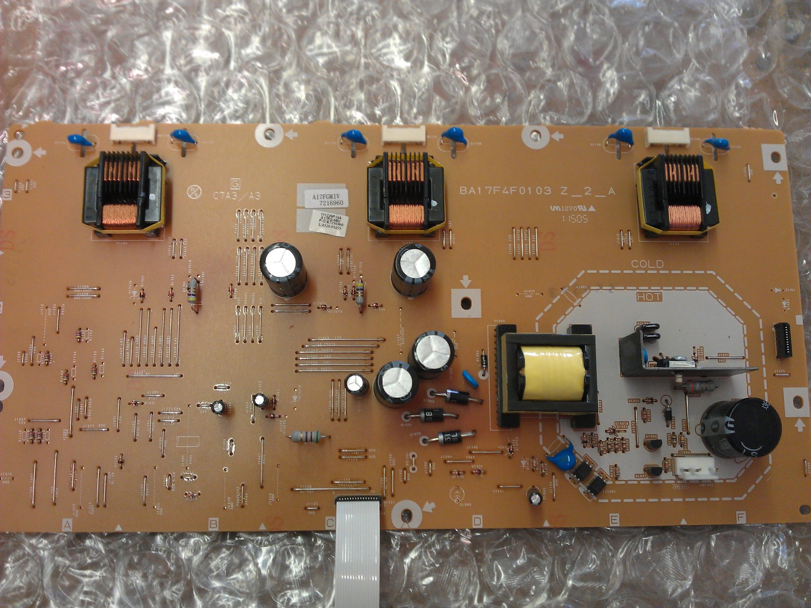 A17FGM1V-001-IV A17FGM1V Inverter Board From Philips 32PFL3506/F7 LCD TV