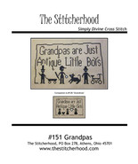 Grandpas cross stitch chart The Stitcherhood - $8.10