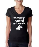 Women's V Tee Shirt Best Mom Ever Mother's Day - $14.99