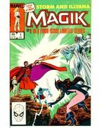 MAGIK #1 (Marvel Comics) ~ Storm and Ilyana - $1.00