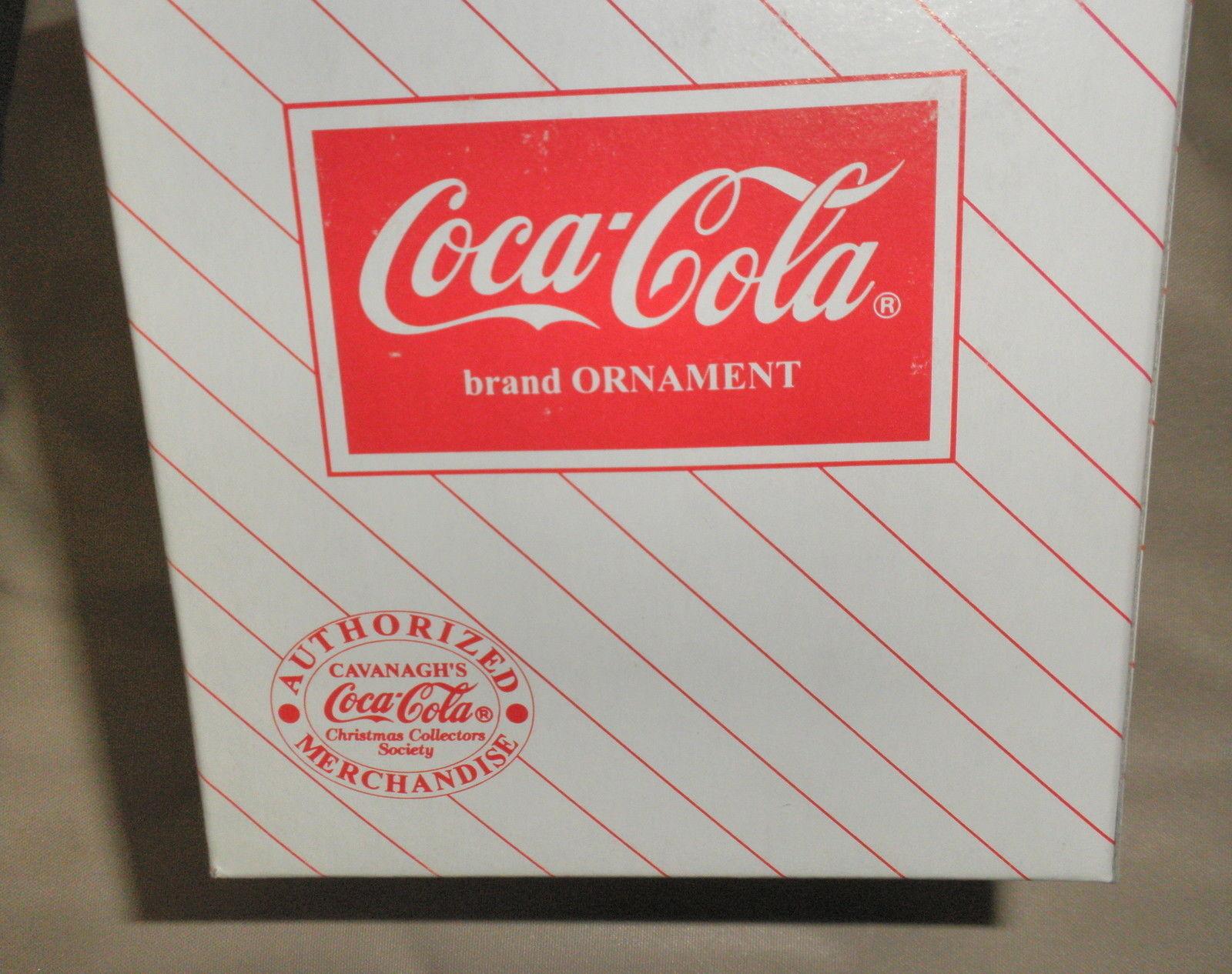 Cavanagh Group Coca Cola Grandma 1996 Ornament # CS96501