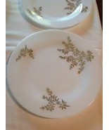 Fire King Gold Bush Design 8 pc place setting complete w matching Glassware - $275.00