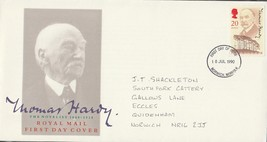 GB 1990 Thomas Hardy single stamp FDC Norwich postmark see rest - $0.35