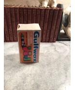 Gulf Oil Paraffin GulfWax Jar Canning Wax Box A... - $8.00