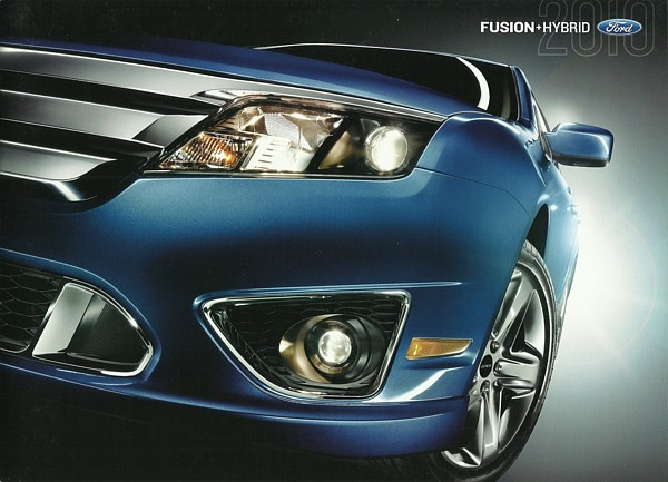 2010 Ford Fusion S Brochure Catalog 1st Edition Se Sel Hybrid 10 Us 6 00