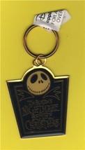 Disney Tim Burton Nightmare Before Christmas metal key chain Applause - $19.34