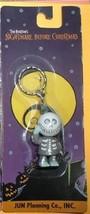 Nightmare Before Christmas Barrel carded key chain Japan Jun Planning - $19.34