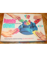 HANDS DOWN SLAP HAPPIEST SLAMOMATIC GAME 1964 IDEAL TOY CORP COMPLETE  - $25.00