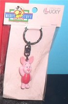 Disney Piglet  from Winnie the Pooh  Figurine  key chain made of PVC Mint - $19.34