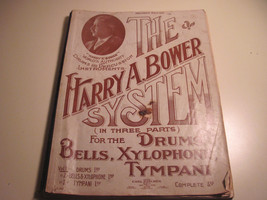 Percussion Method Manual Harry Bower System Drums Boston Symphon Carl Fi... - $14.55