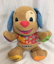 Fisher Price Laugh and Learn Love to Play Talking Puppy Dog - Interactive, Music - $5.48