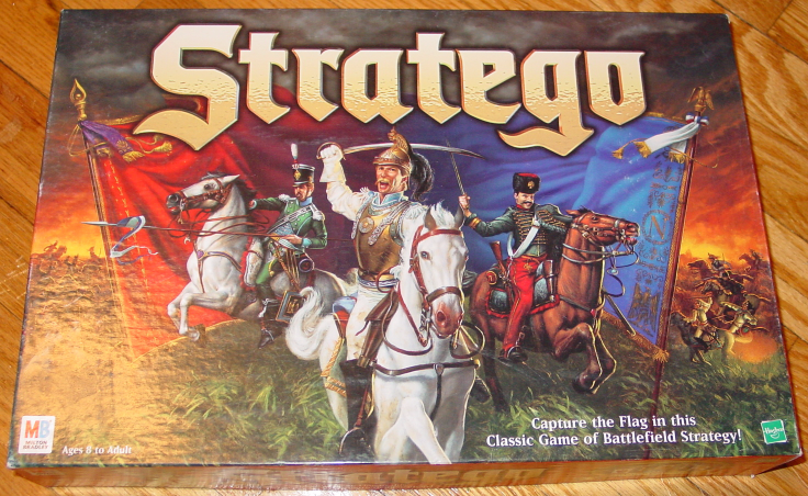 Primary image for STRATEGO CAPTURE THE FLAG 1999 MILTON BRADLEY COMPLETE