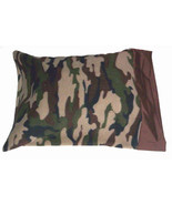 Fleece Camouflage Travel Size Pillow Case - $17.00