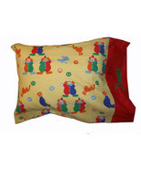 Clowns and Circus Travel Size Pillow Case - $17.00