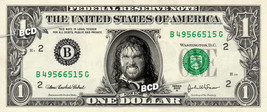 ADAM BOMB Wrestler on REAL Dollar Bill -  Collectible Celebrity Cash Mon... - $4.44