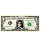 ADAM BOMB Wrestler on REAL Dollar Bill -  Collectible Celebrity Cash Mon... - £3.35 GBP