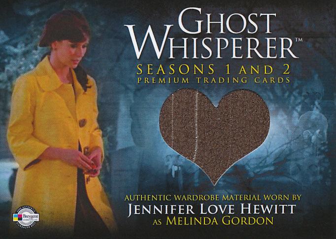 Ghost Whisperer Seasons 1 and 2 GC-13 Melinda's Brown Dress Wardrobe Card