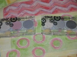 L'Oreal Wear Infinite Eye Shadow Trios Lot of 2 Fortune's Pink & Galaxy ... - $9.00