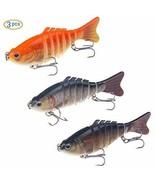 *Emfay lure metal jig 16g / 10cm 3-piece set Minnow Fishing Tackle Lures - €19,38 EUR