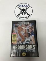 David Robinson's Supreme Court (Sega Genesis, 1992) - $8.55