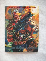 1993 Skybox Marvel Masterpieces Trading Card # 18 Cable - $0.95