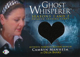 Ghost Whisperer Seasons 1 and 2 GC-17 Delia's Top Wardrobe Card - $12.00