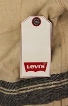 NEW LEVI'S MEN'S SHAN CLASSIC LONG SLEEVE STRIPED WOOL SHIRT BISCOTTI 3LDLW205 image 5