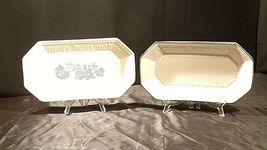 Pfaltzgraff Bread Serving Plate USA (Pair)  AA20-2131b Vintage image 3