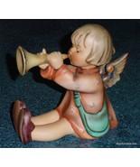 """HUGE """"Joyous News"""" Goebel Hummel Angel Figurine With Trumpet #27/3 - VER... - $200.05"""