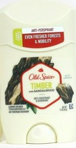 1 Ct Old Spice 1.7 Oz Timber With Sandalwood Anti Perspirant Deodorant Exp 11/20 - $12.99