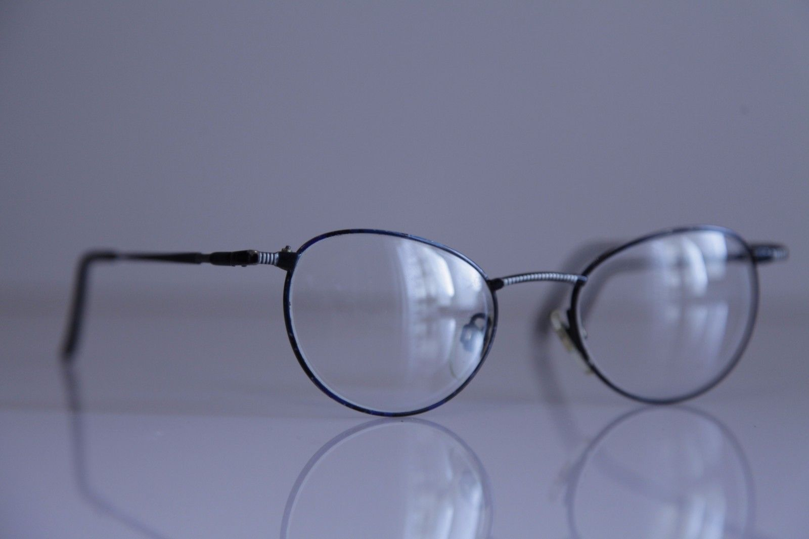Vintage METZLER Eyewear, Dark Blue Frame, RX-Able  Prescription lenses. GERMANY