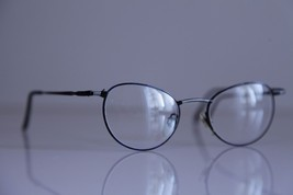 Vintage METZLER Eyewear, Dark Blue Frame, RX-Able  Prescription lenses. ... - $33.66