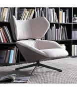Living Room Wingback Leisure Chair Comfy Scandinavian Style Steel Leg Li... - $549.00