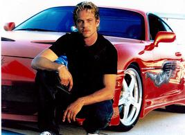 Fast and Furious Paul Walker Car Vintage 16X20 Color Movie Memorabilia Photo - $29.95